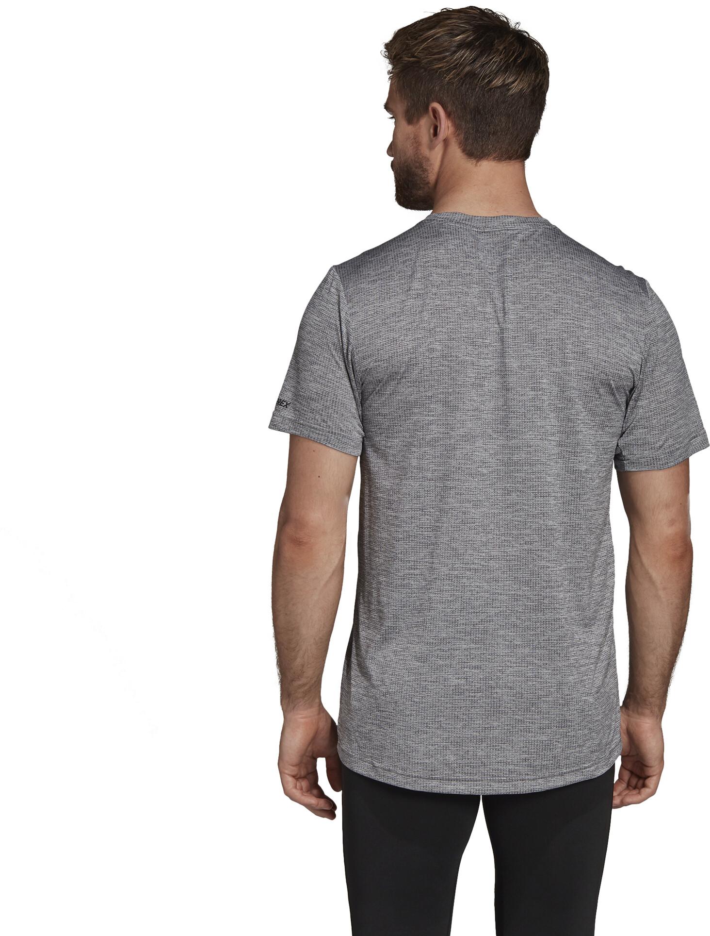 227f05f287261b adidas TERREX Tivid t-shirt Heren, grey two/grey five l Outdoor ...